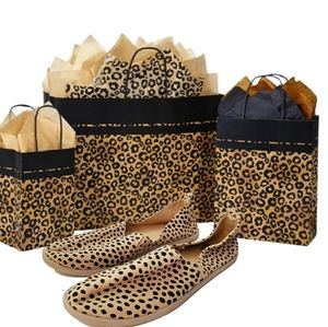 Report brown cheetah leopard flat loafers …